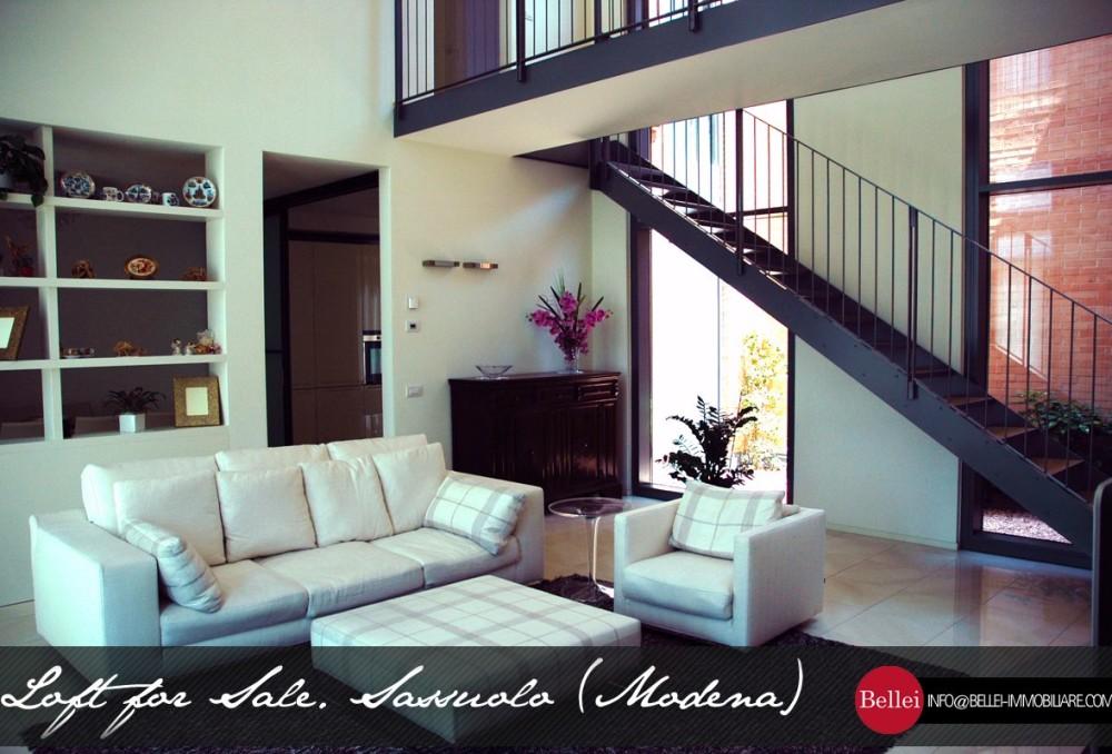 Лофт замечательно элегантный жилой район в Сассуоло, Модена. Продажа.