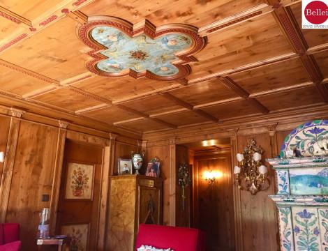 Bellissimo appartamento di lusso in montagna vista Sassolungo