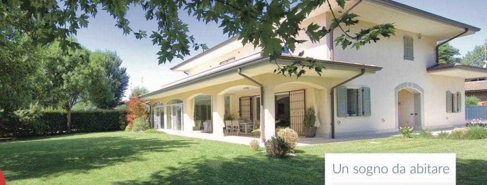 Magnifica villa in stile classico con peculiarità moderne